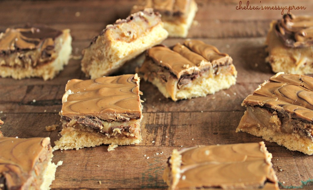 PB Chocolate Caramel Bars