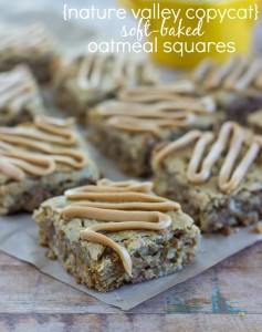 Nature Valley Copycat - Soft-Baked Oatmeal Squares